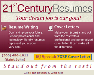 21st Century Resumes - Your dream job is our goal! Resume writing services + iSJ Special: FREE Cover letter! Click for details & web site